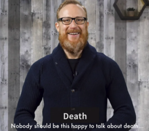 Kevin Pic - Death - Nobody Should Be This Happy To Talk About Death